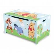 Box na hračky - dřevěná truhla  Medvídek Pú