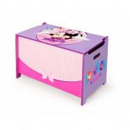 Box na hračky - dřevěná truhla Minnie Mouse Myška
