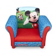 Disney dětské čalouněné křesílko Mickey Mouse TC83939MM