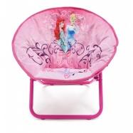 Dětská rozkládací židlička Princezny- Princess TC85761PS