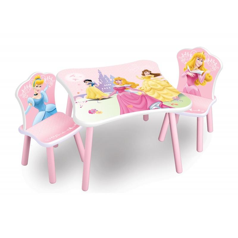 Dětský dřevěný stůl Princess II  TT89331PS