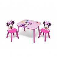 Dětský stůl s židlemi myška Minnie II  TT89429MN