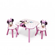 Dětský stůl s židlemi Minnie III Myška TT89436MN