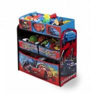 Organizér  na hračky Cars Komoda TB84521CR