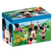 Box na hračky - látková truhla Mickey