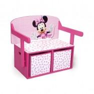 Dětská lavice s úložným prostorem Myška Minnie Minni TB84865MN