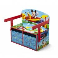 Dětská lavice s úložným prostorem Myšák Mickey TB84912MM