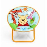 Dětská rozkládací židlička Medvídek Pú TC85847WP