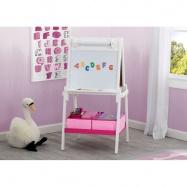 Dětská dřevěná tabule bílá TE87600GN