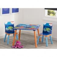 Dětský stůl s židlemi Oceán