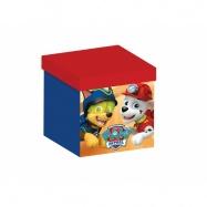 Box na hračky -  taburet Tlapková patrola TC85958PW