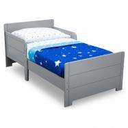 Dětská dřevěná postel šedá BB81480GN
