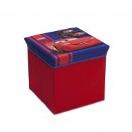 Box na hračky -  taburet Auta- Cars TC85735CR