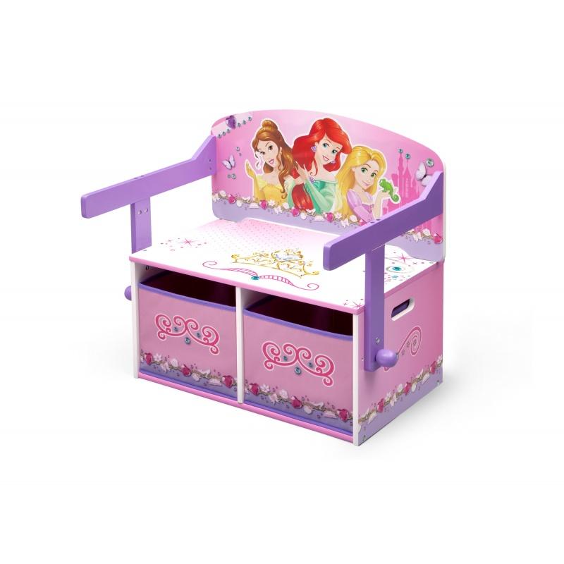 Dětská lavice s úložným prostorem Princess TB84562PS