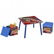 Dětský stůl s taburety Cars TT89313CR