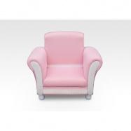 Dětské čalouněné křesílko růžové UP85853GN