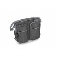 DOOMOO BASICS Baby travel přebalovací a přenosná taška, šedá