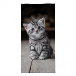 Detská osuška Mačička 140x70 cm