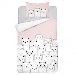 Detské obliečky Mačky 135x100 cm