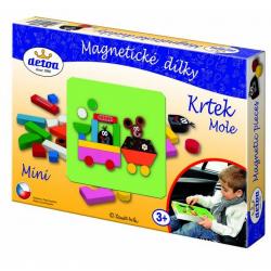 DETOA Tablica magnetyczna i elementy Krecik mini