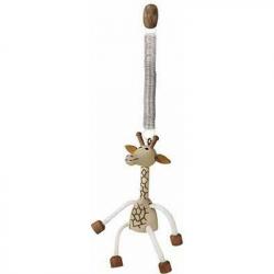 Dřevěné hračky - Na zavěšení - Žirafa na pružině