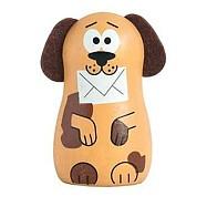 Dřevěné hračky -  dekorace - Magnetka pejsek