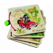 Drevené hračky - Drevená knižka - Krtko