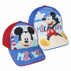 Šiltovka Disney Mickey modrá / červená