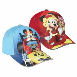 Šiltovka Disney Mickey roadster modrá / červená