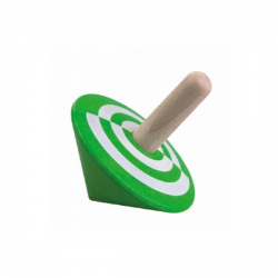 Káča zelená drevo 6cm v sáčku
