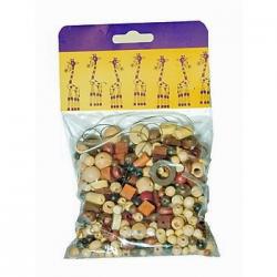 Mix perlí 100g hnedo-prírodné