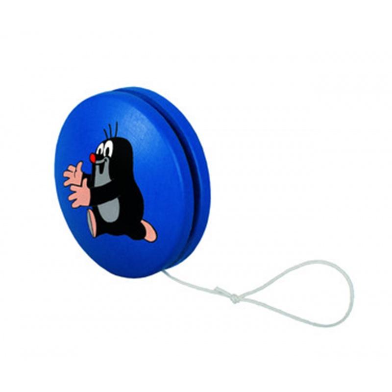 Jo-jo modré s běžícím krtkem