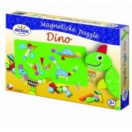 DINO puzzle magnetyczne Dinozaury
