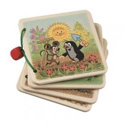 Drevené hračky - Obrázkové album Krtko na záhrade