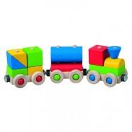 Dřevěné hračky Detoa - Veselý vláček
