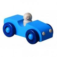Detoa dřevěné autíčko modré