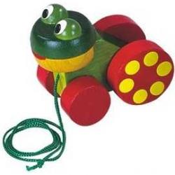 Żabka na sznurku