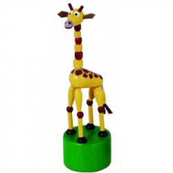 Detoa Mačkací figurka Žirafa safari