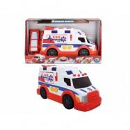 Ambulans biało-czerwony 33cm