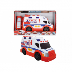 Dickie Action Series Ambulance 33cm, světlo, zvuk