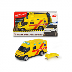 Ambulancia Iveco, česká verzia, 18 cm