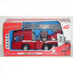 DICKIE Wóz straży pożarnej z mikrofonem 43 cm