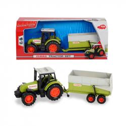 Dickie Farm - Traktor CLAAS z przyczepą 36 cm