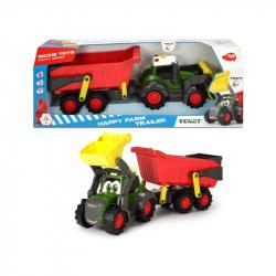 Happy Traktor s prívesom 65cm
