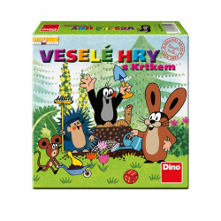 Detská hra: Veselé hry s Krtkom