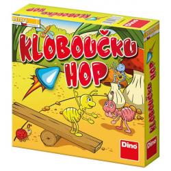 Dětská hra: Kloboučku hop