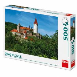 Puzzle 500 dílků: Křivoklát