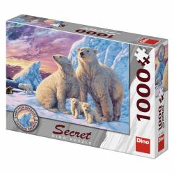Puzzle 1000 dílků Lední medvědi secret collection