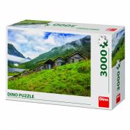 Puzzle 3000 dílků Norangsdalen valley