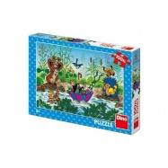 Puzzle Krtek Krtečkova plavba 47 x 33 cm 100 dílků XL